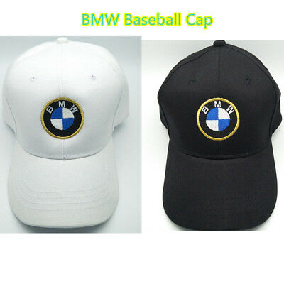 4e938fa35df49 NEW BMW Cap Baseball Stylish Hat Car Adults Golf Embroidery Black White  Snapback