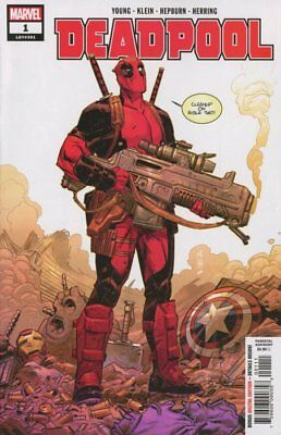 Deadpool #1 MARVEL Comics NM 2018 Skottie Young