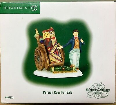 Department 56 Dickens Village Persian Rugs for Sale #807232 Retired