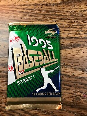 One Unopened Pack of 1995 Score Baseball Cards