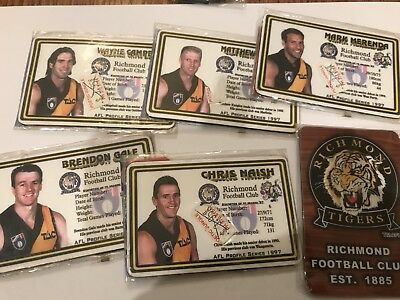 AFL Original 90s Richmond Player Magnets