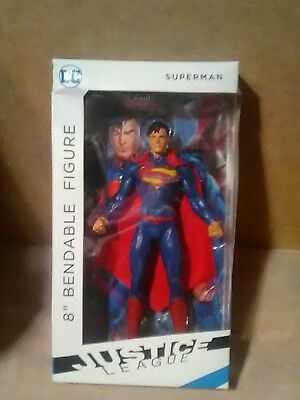 "NJ Croce Superman Bendable 8"" Figure"