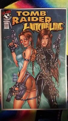 Tomb Raider/witchblade Special #1 Nm