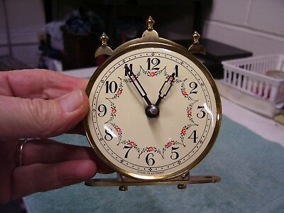 Vintage Euramca Anniversary Clock Face and Movement Germany!
