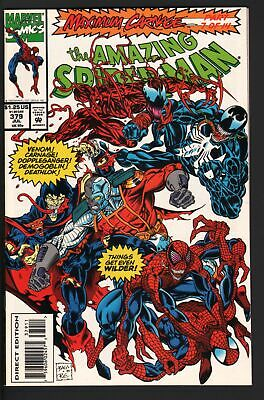 Amazing Spider-Man #379-Marvel Comics Nm-Venom-Carnage