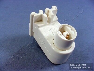 Leviton High Output T8 T12 Fluorescent Light Lamp Holder Socket 13464 Vertical