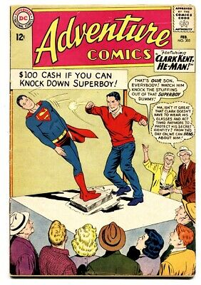 ADVENTURE COMICS #305 1963 DC Mon-el helps create the Legion ring