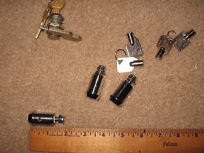 "Vending lock 1 1/4"" tubular HIGH SECURITY cam lock~keyed alike, cabinet doorlock"