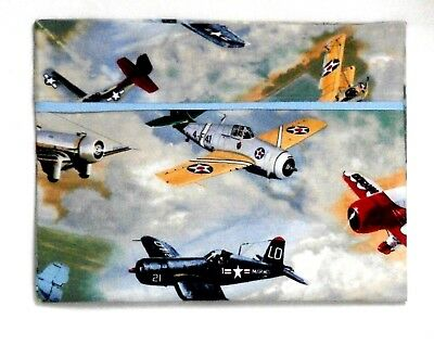 Airplanes Toddler Pillowcase on multi-colors Cotton AP1-43 New Handmade