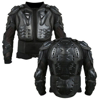 Motorcycle Full Body Armor Jacket Spine Chest Shoulder Protective Riding Gear RS