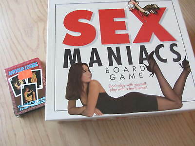 Sex maniac board game + playing cards stag nights/ hen nights/adult party game