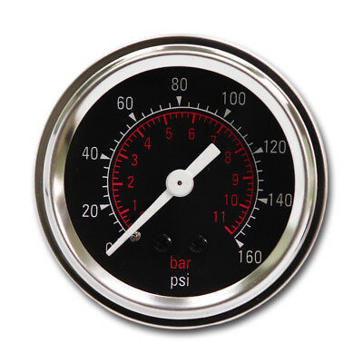 52mm Air Pressure Gauge Digital Blue LED for Air Suspension Air Ride BAR