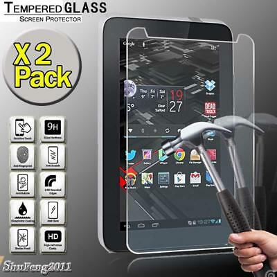 2 Pack Tempered Glass Screen Protector For Vodafone Smart Tab III 3 10.1 Tablet