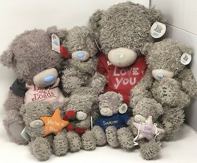 Tatty Teddy Blue Nose Me To You Soft Plush Toy Bundle Clintons