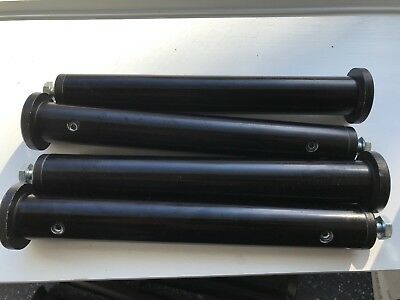 - Lot Of 4 - Manfrotto Autopole & Superclamp Accessory Tubes / Extensions -