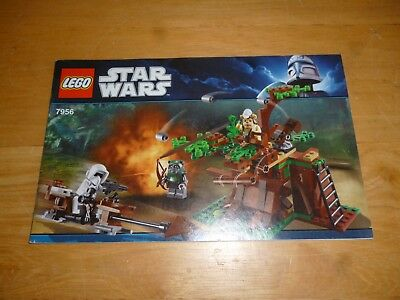 LEGO Star Wars set 7956, INSTRUCTION Books Only, NO BRICKS