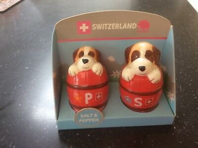 collectable novelty salt and pepper pots