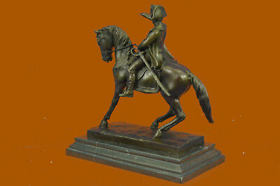 Statue Sculpture Napoleon French Style Bronze Signed Collector Edition Statue