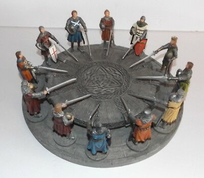 Knights Of The Round Table King Arthur Medievel Figures HANDMADE By Sculptures