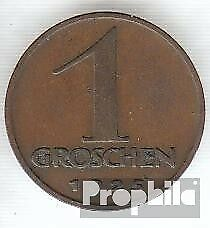 Austria km-number. : 2836 1936 extremely fine Bronze extremely fine 1936 1 Penny