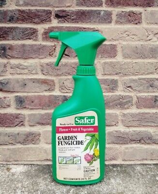 Safer Brand Fungicide For Flowers, Fruits & Vegetables Ready to Use 24 Oz