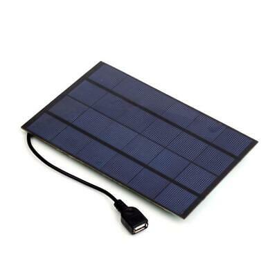 4W 5V 0.8A Portable Solar Panel USB Output SunPower Charger For Cellphone MP3