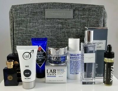 78c1cc6b54 Men s Grooming Gift Set Givenchy Lab Series Jack Black Versace Task Travel  Case