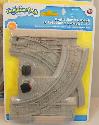 Imagineering by Lionel Right and Left Switch Pack No. 7-11627