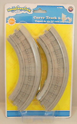 Imagineering by Lionel Curve Track 6 Pack No. 7-11605