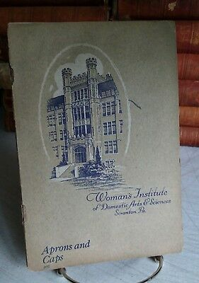 Aprons and Caps, Woman's Institute of Domestic Arts and Sciences, 1922