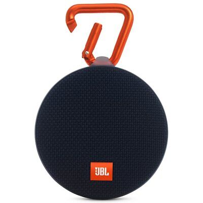 JBL Clip 2 Waterproof Portable Rechargeable Bluetooth Wireless Speaker w/ Mic