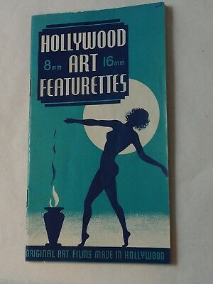 Vintage Hollywood art Featurettes 8mm +16mm-Screenland Modelettes