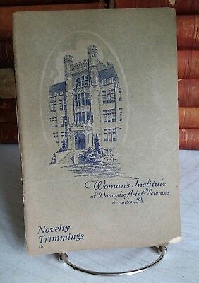 Novelty Trimmings, Woman's Institute of Domestic Arts and Sciences, 1916