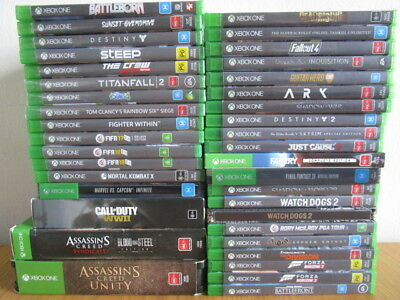 Xbox One Games Assorted  Game Xb1 Games Choose Your Own Xbox One X *Free Post *