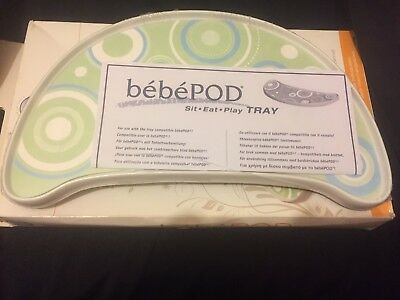 NIB**bebePOD Tray Kit**Adjustable Tray with Reusable Placemat**FREE SHIPPING