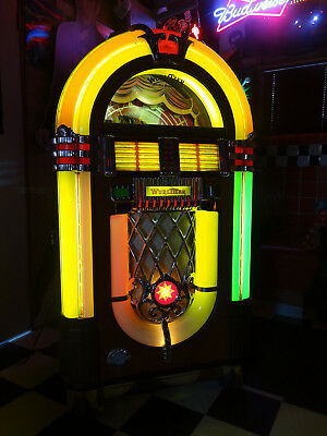 Wurlitzer Bubbler 1015 One More Time CD Jukebox / As New Condition
