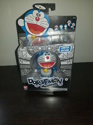 SDCC Comic Con Bandai Metallic Limited LE 300 Doraemon Vinyl Figure Gadget Cat