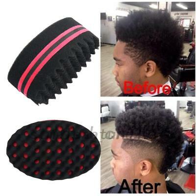 Wave Barber Hair Brush Sponge Dreads Afro Locs Twist Curl Coil Tool Barbershop