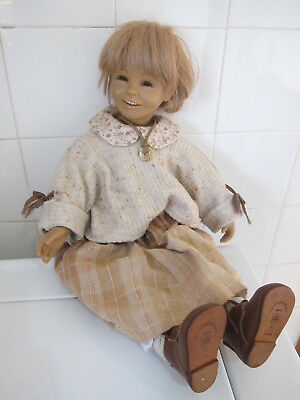 """20"""" DOLL BY BETTINA FEIGENSPAN-HIRSCH Limited Edition / Collectors - 1994"""