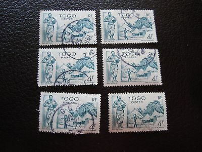 TOGO - stamp yvert and tellier n° 247 x6 obl (A33) stamp