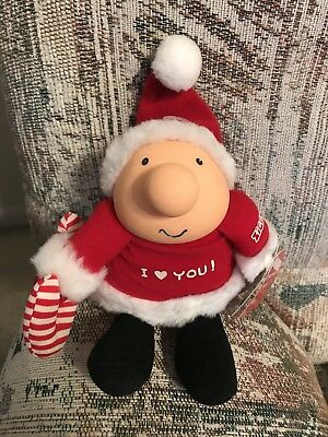 Vintage Ziggy A Little Christmas Love Plush American Greetings Figure With Tags