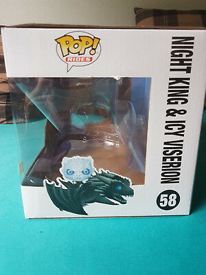 Funko Pop Game of Thrones Icy Viserion OVP