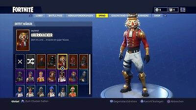 Fortnite Rote Ritterin Account Ps4