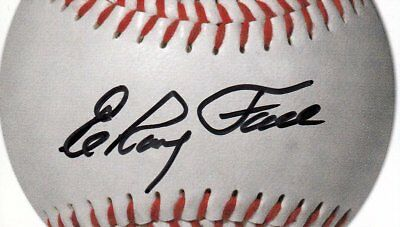 Elroy Leon Face (USA) Baseball Pittsburgh Pirates original signiert/signed !!