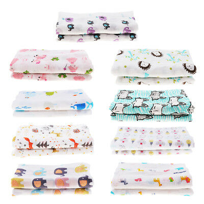 Newborn Muslin Yarn Soft Blanket Bedding Wrap Swaddle Blanket Bath Towel