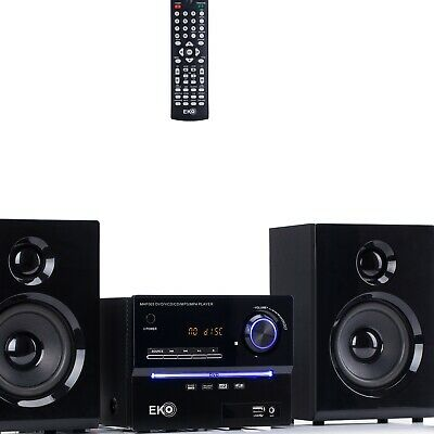 CD Stereo System Mini HiFi Home Audio Hi Fi Bluetooth USB DVD Player Sound New