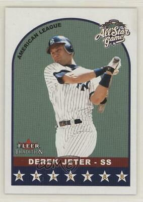 2002 Fleer Tradition This Day In History #13DH Derek Jeter New York Yankees Card