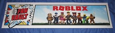 ROBLOX Toys R Us Exclusive Display/Sign  (Approx 4' x 1') Fan Vault