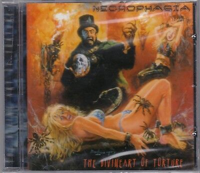 Necrophagia ‎– The Divine Art Of Torture RARE CD! SEALED! FREE SHIPPING!