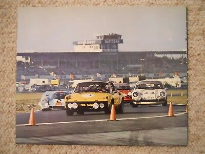 1972 Porsche 914-6, 911 & 917  Showroom Advertising Poster RARE!! Awesome L@@K